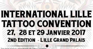 International Lille Tattoo Convention Tatouage Salon Tatoueur Festival
