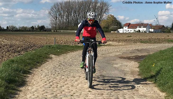 Cycliste, Paris-Roubaix Challenge, amateur, 2017