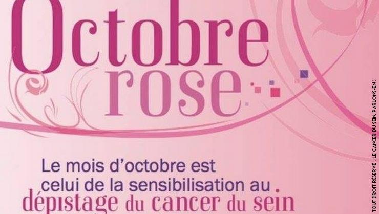 Octobre Rose pour sensibiliser au dépistage du cancer du sein