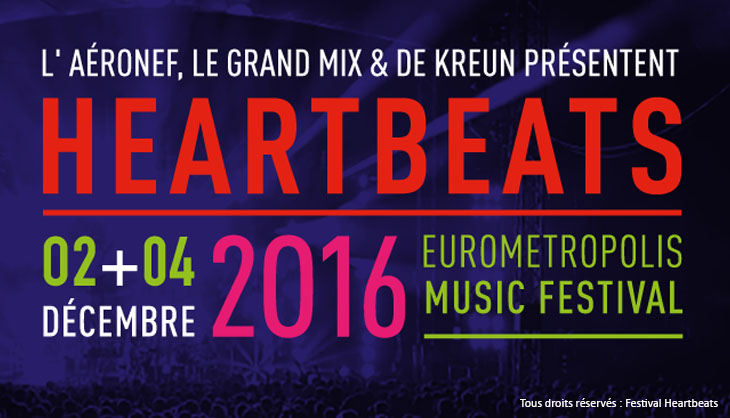 festival Lille Aeronef concert gratuit