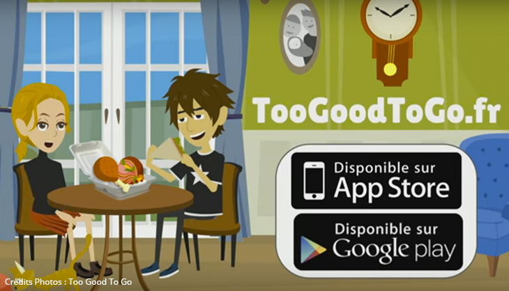 Too Good To Go Gaspillage Alimentaire Application