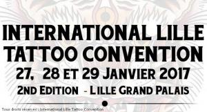 International Lille Tattoo Convention Tatouage Salon Tatoueur Festival