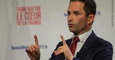 hamon primaire gauche élections hollande valls aubry macron