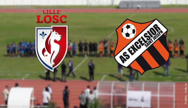 LOSC foot Dimitri Payet amateur Coupe France Stade Pierre Mauroy Excelsior