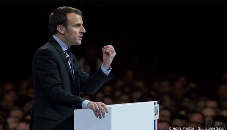 Macron Primaire Gauche Droite Lille Meeting Zénith En Marche