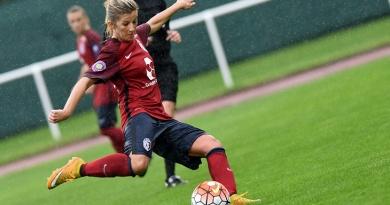 LOSC Rachel Saïdi D2 D1 FFF Templemars-Vendeville Ligue 1 Equipe de France Bleuettes Coupe du Monde