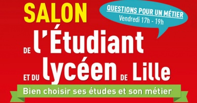 Lille salon étudiant lycéens étudiants lille grand palais orientation