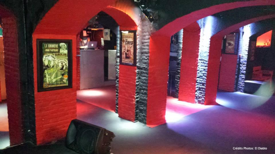 Bar El Diablo Lille travaux fermeture rock