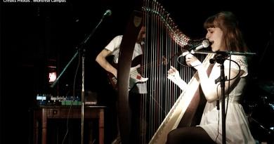 Emilie & Ogden Lille Lille 2 Emilie Kahn Antre 2 Toronto 10 000 Folk Rock Harpe France Canada