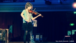Violon Violoniste Lindsey Stirling Concert Zenith Lille Youtube Cover Reprise