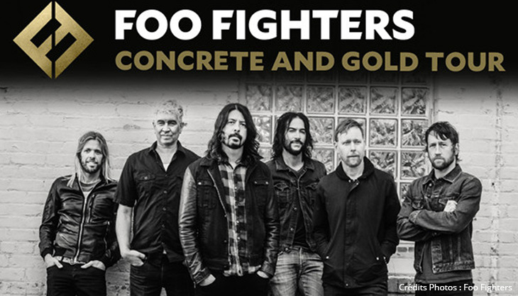 Foo Fighters Concert Anvers Lille Live Rock Music