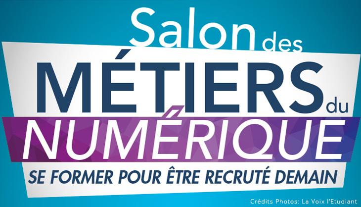 Image Salon des Metiers du Numerique Lille 2017