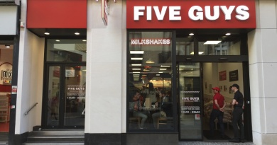 Five Guys Lille 2017 Obama Burger Fast Food McDonald's Burger King Quick