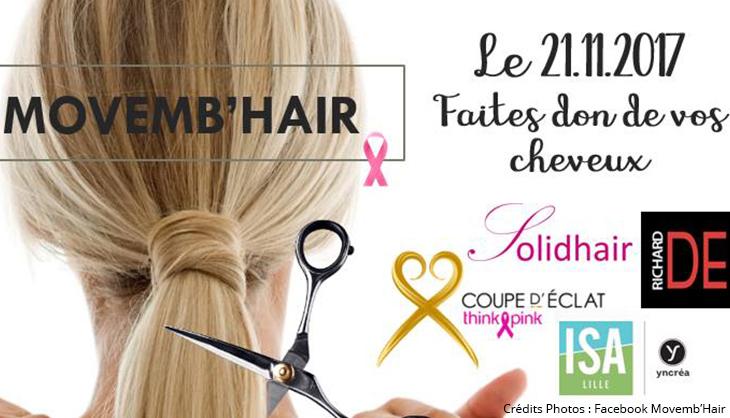 Movembhair cheveux solidarité