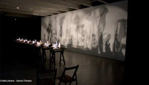 Performance Tri Postal exposition Lille 2017 art culture