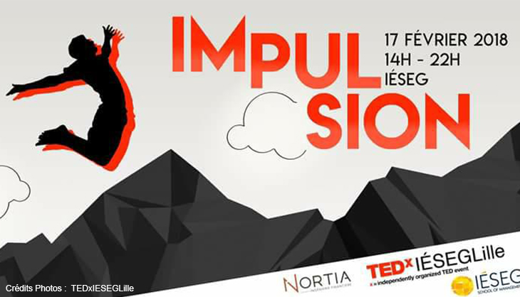 TED TEDx IESEG Lille 2018 Conférence Speaker Talks Société février