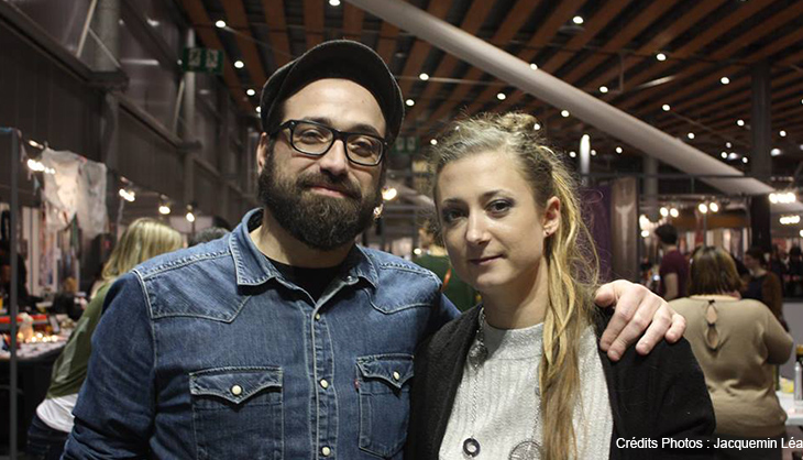 Lille Tattoo Convention 2018 tatouage couple salon janvier grand palais