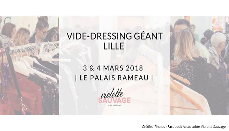 vide dressing geant vetements habits vintage petits prix shopping lille palais rameau violette sauvage