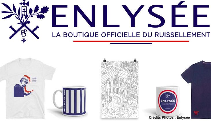 enlysee boutique elysee macron politique satire humour
