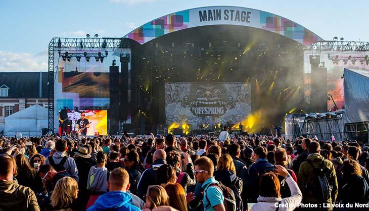 Citadelle Arras Main Square Festival Affiche Programmation DJ Snake Damso Cypress Hill Angele Lomepal Skip the use Agar Agar Shame Arnaud Rebontini Eddy de Pretto Editors BigFlo Oli Tamino Juillet