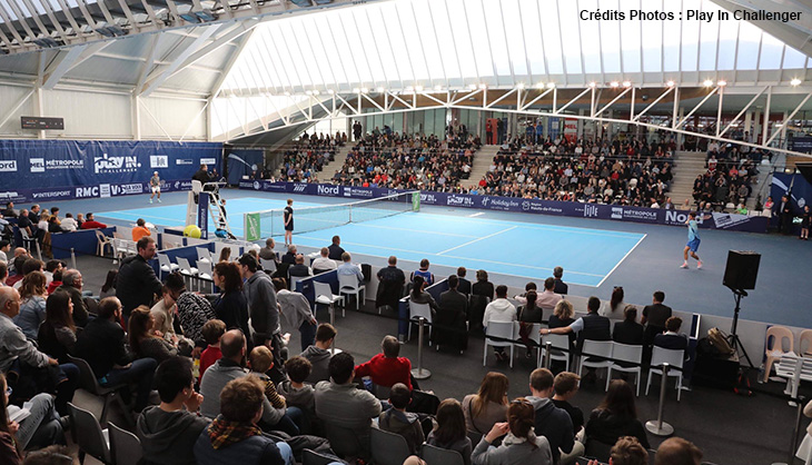 Tennis sport Lille Play In