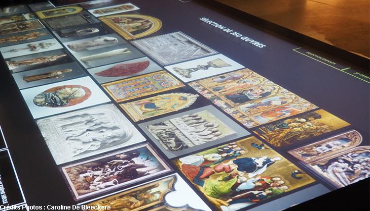 giga pixel PBA musée beaux arts exposition numérique digital ecran