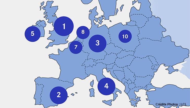 infographie carte classement destinations preferees etudiants