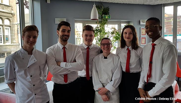 étudiants cuisine chef restauration