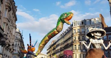 ouverture parade serpent soleil eldorado lille culture lille3000 lille2004 Mel Nord